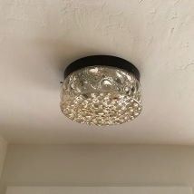 Vintage Bubble Light, refurbished and loaded with LED bulbs