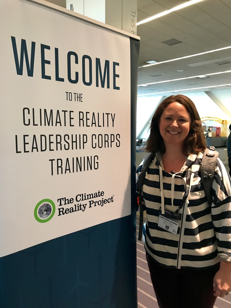 Checking in: Climate Reality Download